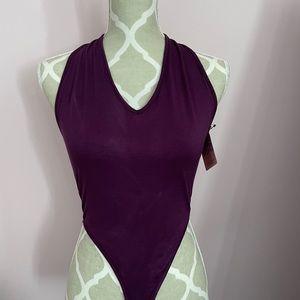 Open back brand new bodysuit